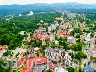 Фото курортной зоны Трускавца