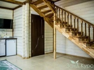 Двухэтажный коттедж. Площадь 110 м2.