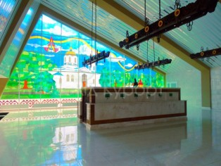 Бювет в Миргород курорте
