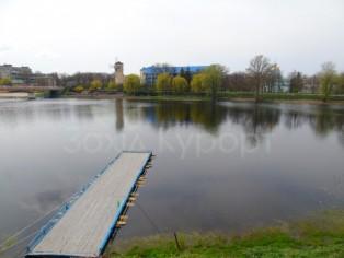 Отдых в Миргороде.  Река Хорол