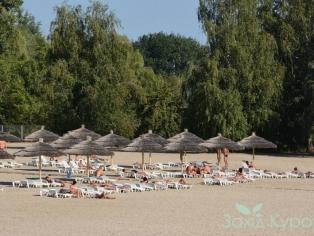 Курорт Миргород - лечебный пляж