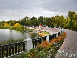 Курорт Миргород - речка