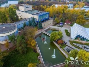 Курорт Миргород - бювет,  дом культуры