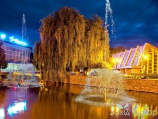 Курорт Миргород - фонтан