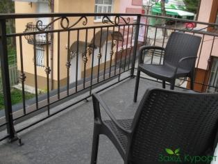 Номер №13 Cтандарт 1 категории с террасой. Балкон