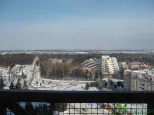 Полулюкс 2-х местный. Вид с балкона