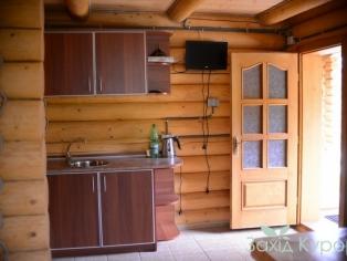 Деревянный коттедж