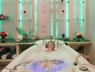 Минеральная ванна с жемчужным массажем