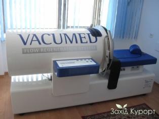 Вакуумная терапия с магнитотерапией и оксигенотерапией на немецком аппарате Vаcumed
