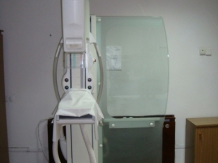Маммограф для исследования молочных желез у мужчин и женщин.