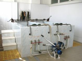 Подводная  вытяжка позвоночника