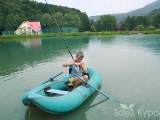 Озеро и рыболовля