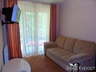Корпус №3. 2 комнатный люкс ( с балконом )