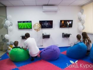"""Интерактивная комната (приставки X-box 360 с играми). """"Лесная Песня"""""""