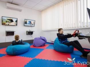 """lИнтерактивная комната (приставки X-box 360 с играми). """"Лесная Песня"""""""