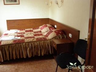 Однокомнатный двуместный люкс с балюстрадой