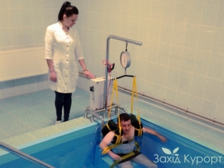 Кабинет подводной вытяжки позвоночника