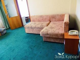 """Санаторий """"Хмельник"""". 2-комнатный 2-местный с кухней ( Люкс ) ( корпус №7 )"""