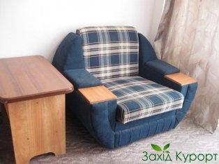 Однокомнатный улучшенный (с одной кроватью). Раскладное кресло