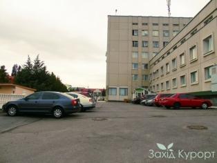 Санаторий МЦР Железнодорожников - парковка
