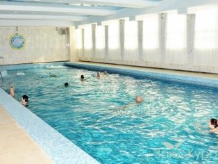 Санаторий МЦР Железнодорожников - бассейн