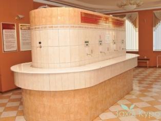 Санаторий МЦР Железнодорожников - Бювет