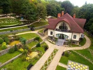 Villa «Квітка» с высоты птичьего полета