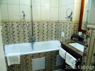 Люкс. Ванная комната