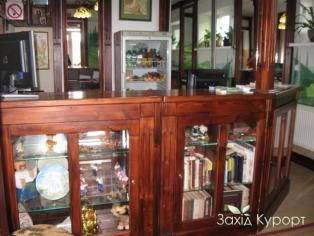 Библиотека, рецепция, мини-бар