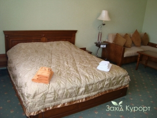 №1. Двухместный номер с дополнительным двухместным диваном