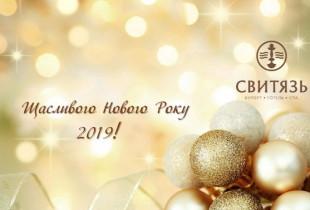Новый 2019 год в отеле «Свитязь» г.Трускавец