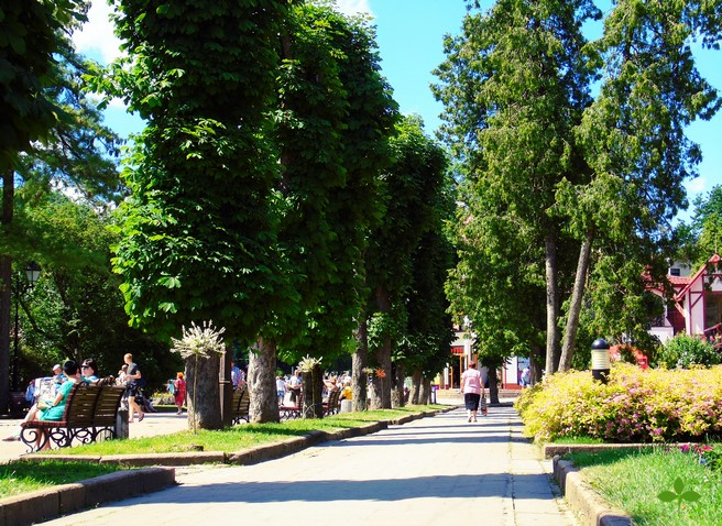Парк в Трускавце