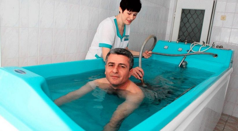 Радоновые ванны Хмельн